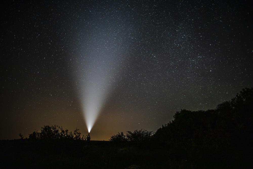 Elementos de visión nocturna en Andalucía